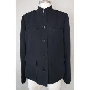 Company Ellen Tracy Military Style Coat